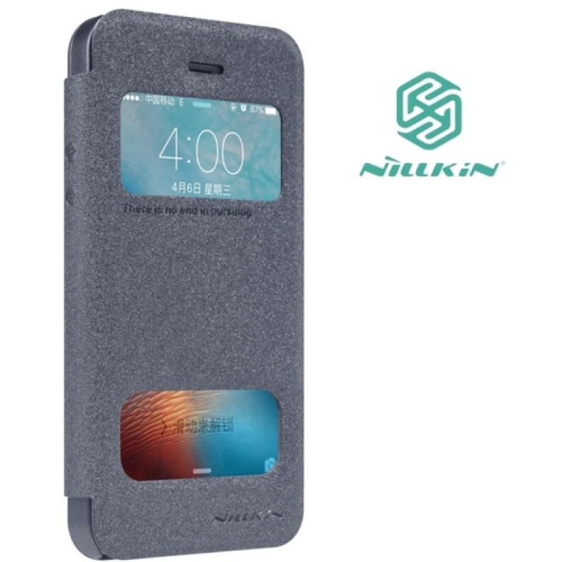"""Iphone 5/5s/Se deklas tamsiai pilkas """"Nillkin"""" Sparkle"""