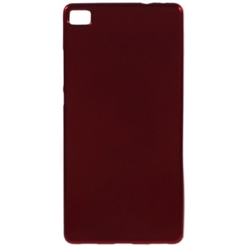 Silikoninis raudonas dėklas (p8)
