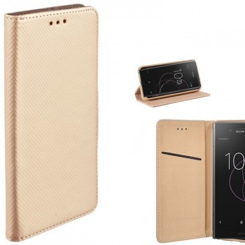 Auksinis atverciamas idėklas xperia Xz1 telefonams