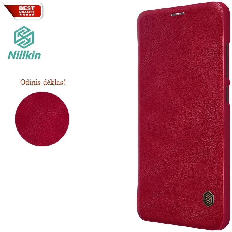 Qin Nillkin raudonas dėklas (MI8)