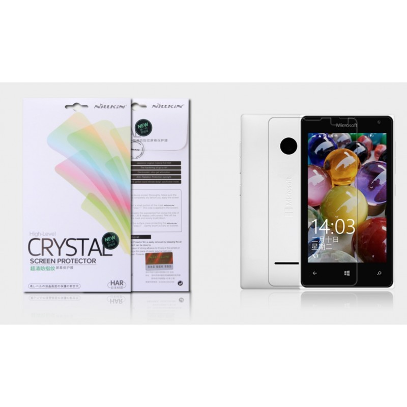"""Lumia 435 plėvelė """"Nillkin"""" Crystal"""