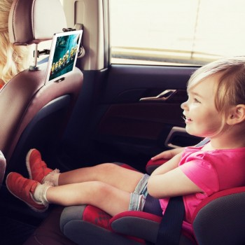 Baseus auto planšetės-telefono laikiklis (tvirtinamas prie galvos atlošo) nuo 4.7 iki 12.9 colių